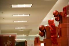 Christmas gift boxes Royalty Free Stock Photo