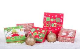 Christmas Gift Boxes Royalty Free Stock Image