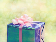 Christmas gift boxes. Royalty Free Stock Image