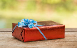 Christmas gift boxes. Royalty Free Stock Photo