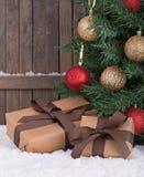 Christmas Gift Boxs Stock Photography