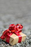 A Christmas gift Royalty Free Stock Image