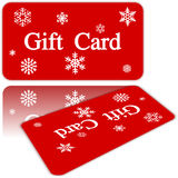 Christmas Gift Card. For sale Royalty Free Stock Photography