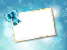 Christmas gift card background Royalty Free Stock Photos