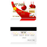 Christmas gift cards Royalty Free Stock Photo