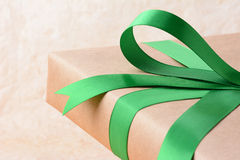 Christmas Gift Closeup Royalty Free Stock Images