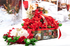Christmas gift craft diy Stock Images