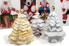 Christmas gift craft diy Royalty Free Stock Photography
