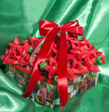 Christmas gift craft diy Royalty Free Stock Image