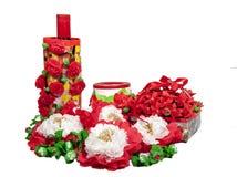 Christmas gift craft diy Royalty Free Stock Photo