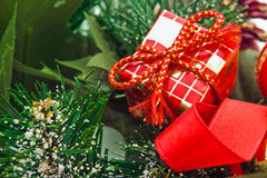 Christmas gift decoration Royalty Free Stock Photo
