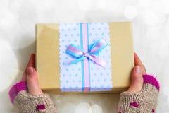 Christmas gift decoration Stock Image