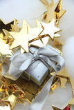 Christmas gift and decorations Stock Image