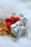 Christmas gift and decorations Royalty Free Stock Photos
