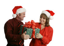 Free Christmas Gift For Her Royalty Free Stock Photo - 1390115