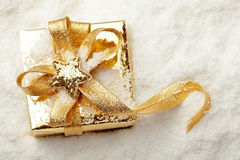 Christmas gift Royalty Free Stock Photography