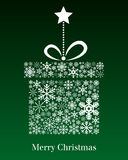 Christmas Gift Greeting Card Royalty Free Stock Images