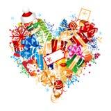 Christmas gift, idea design Stock Image