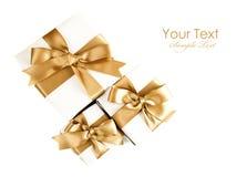 Christmas gift isolated Royalty Free Stock Image