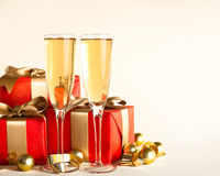 Christmas gift isolated Stock Photo