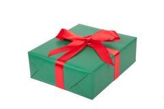 Christmas gift isolated Stock Photos