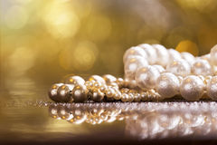 Christmas gift jewelry necklace Stock Images