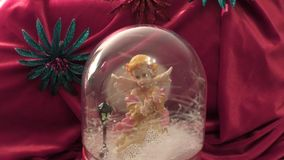 Christmas gift stock video footage