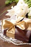 Christmas gift Royalty Free Stock Photography