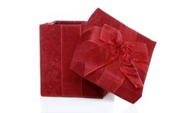 Christmas gift opened Royalty Free Stock Photo
