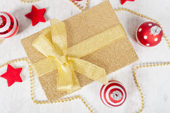 Christmas gift pack Stock Photography