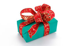Christmas gift pack Stock Images