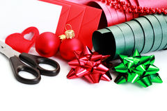 Christmas Gift packaging Royalty Free Stock Photo