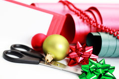 Christmas Gift packaging Royalty Free Stock Images