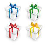 Christmas gift packets in a Set Royalty Free Stock Photography