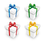 Christmas gift packets in a Set Stock Photos