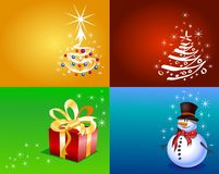 Christmas Gift page Royalty Free Stock Image