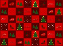 Christmas gift paper. Christmas paper for gift, cloth, covering etc vector illustration