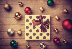 Christmas gift. Royalty Free Stock Photo