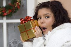 Christmas gift, present royalty free stock images