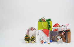 Christmas gift and present Stock Photos
