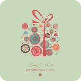 Christmas  gift present Royalty Free Stock Images
