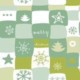 Christmas  gift present pattern Stock Photos