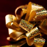 Christmas Gift Ribbon Royalty Free Stock Photography