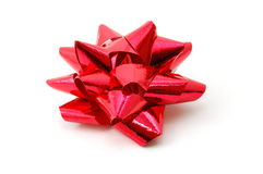 Christmas Gift with ribbon Royalty Free Stock Image