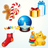 Christmas Gift Set Stock Photos