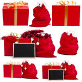 Christmas gift set Stock Photo