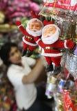 Christmas gift shop Stock Photography