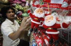 Christmas gift shop Stock Photo