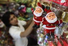 Christmas gift shop Stock Photos