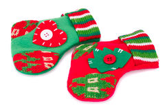 Christmas gift socks Stock Photography
